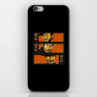 the good ,the bad , and the evil iPhone & iPod Skin