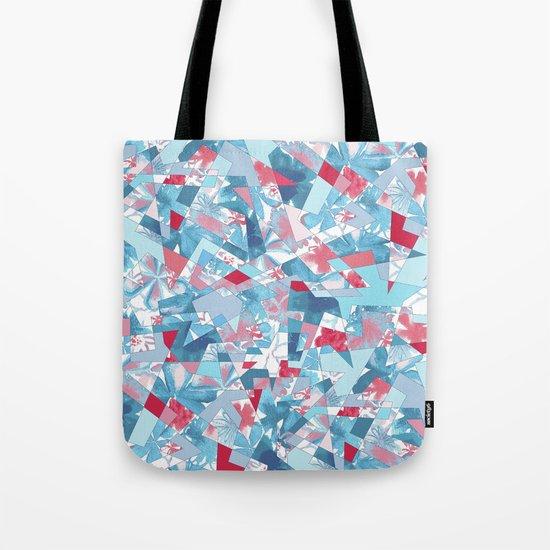 Shattered Floral Tote Bag