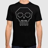 Impossibly Dead Mens Fitted Tee Black SMALL