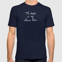 The Beach is My Dream Home Mens Fitted Tee Navy SMALL