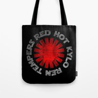 Red Hot Kylo Ren Tempers Tote Bag