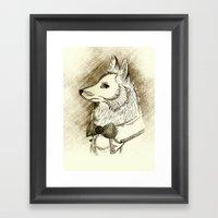 Fox Class Framed Art Print