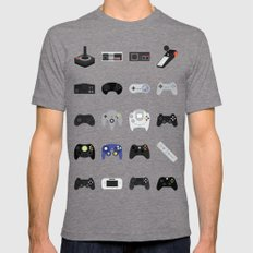 Console Evolution Mens Fitted Tee Tri-Grey SMALL