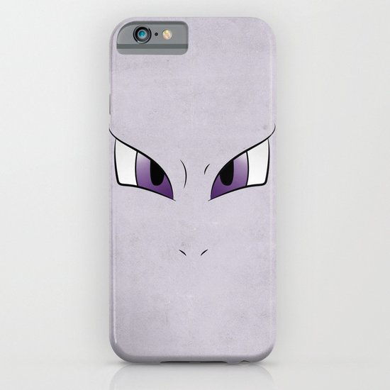 #151 Mewtwo. Minimalistic Pokemon Art iPhone & iPod Case