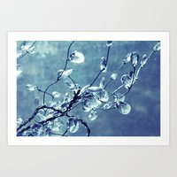 Crystalize Art Print