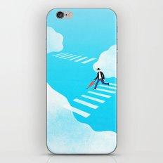 Walking on the sky iPhone & iPod Skin