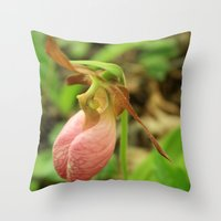 Naturally Fashionable Throw Pillow