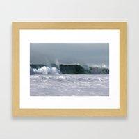 Fast as a Wave Framed Art Print