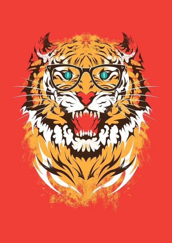 tigeek Art Print