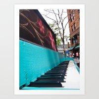 Vintage Piano (1) Art Print