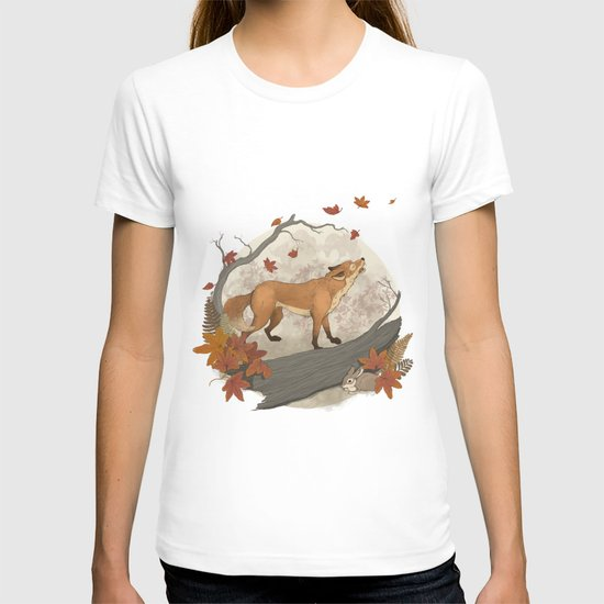 Fox and rabbit T-shirt