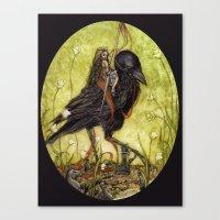 Black Knight Canvas Print
