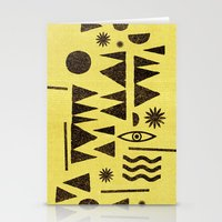 Tangential Paralysis. Stationery Cards