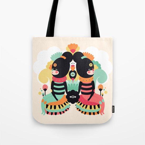 Maoshi & Jun Tote Bag