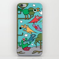 Wood Of Chaos iPhone & iPod Skin