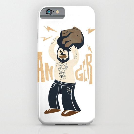Anger (white hot version) iPhone & iPod Case