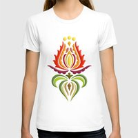 Fancy Mantle On White Womens Fitted Tee White SMALL