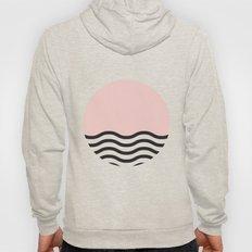 Waves Of Pink Hoody