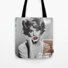J.F. Collage Tote Bag