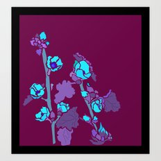 Globe Mallow Flowers Art Print