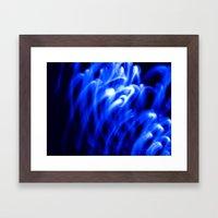 Nothing But Blue #1 Framed Art Print