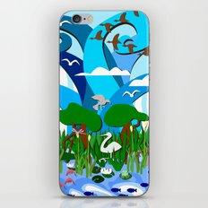 Wetlands iPhone & iPod Skin