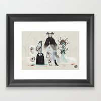 #60 - Year Walk Framed Art Print