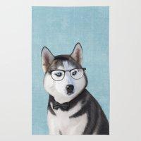 Mr Husky Rug