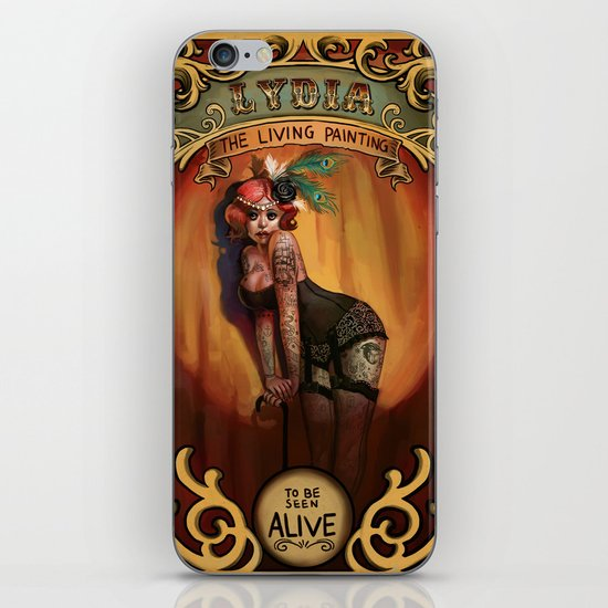 Lydia iPhone & iPod Skin