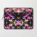 Down The Orchid Hole Laptop Sleeve