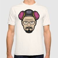 Walter White (Breaking B… Mens Fitted Tee Natural SMALL