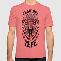 Clan del Pepe Mens Fitted Tee Pomegranate SMALL