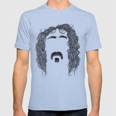 Frank Zappa Mens Fitted Tee Athletic Blue SMALL