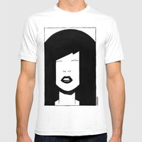 My China Girl Mens Fitted Tee White SMALL