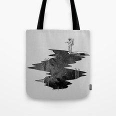 Space Diving Tote Bag