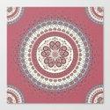 Mandala Paisley - Love Canvas Print