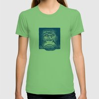 Gorilla Womens Fitted Tee Grass SMALL