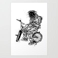 Void In Space (Blk) Art Print