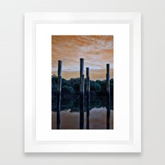 Differnt World Framed Art Print