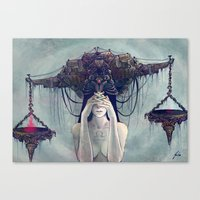 Zodiac Sign: Libra Canvas Print