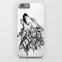 iPhone & iPod Case featuring The Wolf  by LouJah