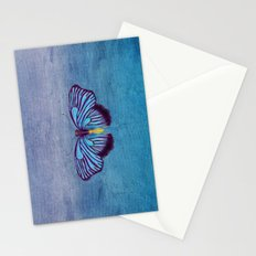Butterflies and Burlap Stationery Cards