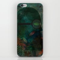 The Ever Curious Botanist iPhone & iPod Skin