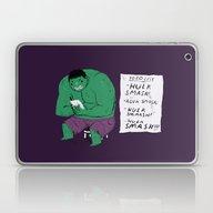 Hulk To Do List. Laptop & iPad Skin