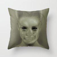 Bride Of Frankenstein Throw Pillow