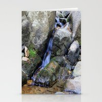 Upper Maxwell Falls in Autumn Stationery Cards