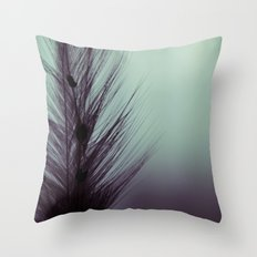 Feather's beauty. Throw Pillow