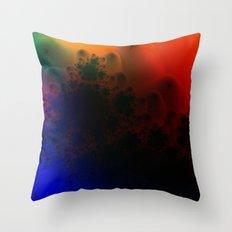 Aura Spectra II Throw Pillow