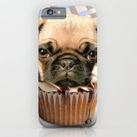 iPhone & iPod Case featuring pupcake by C...