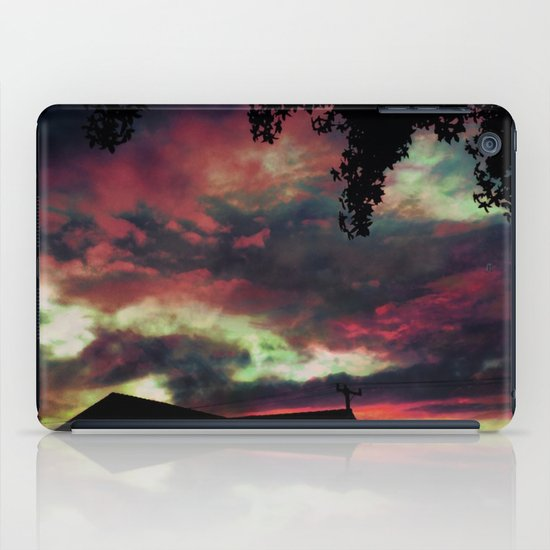 Thick as the Day's End iPad Case